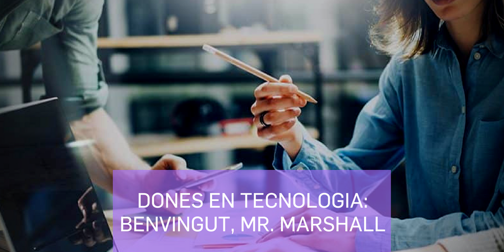 Dones en tecnologia Benvingut, Míster Marshall