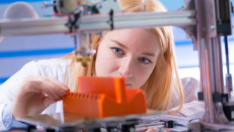 Perspectivas de la impresión 3D industrial en la próxima década